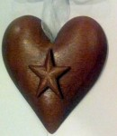 Blue star heart 1 Star