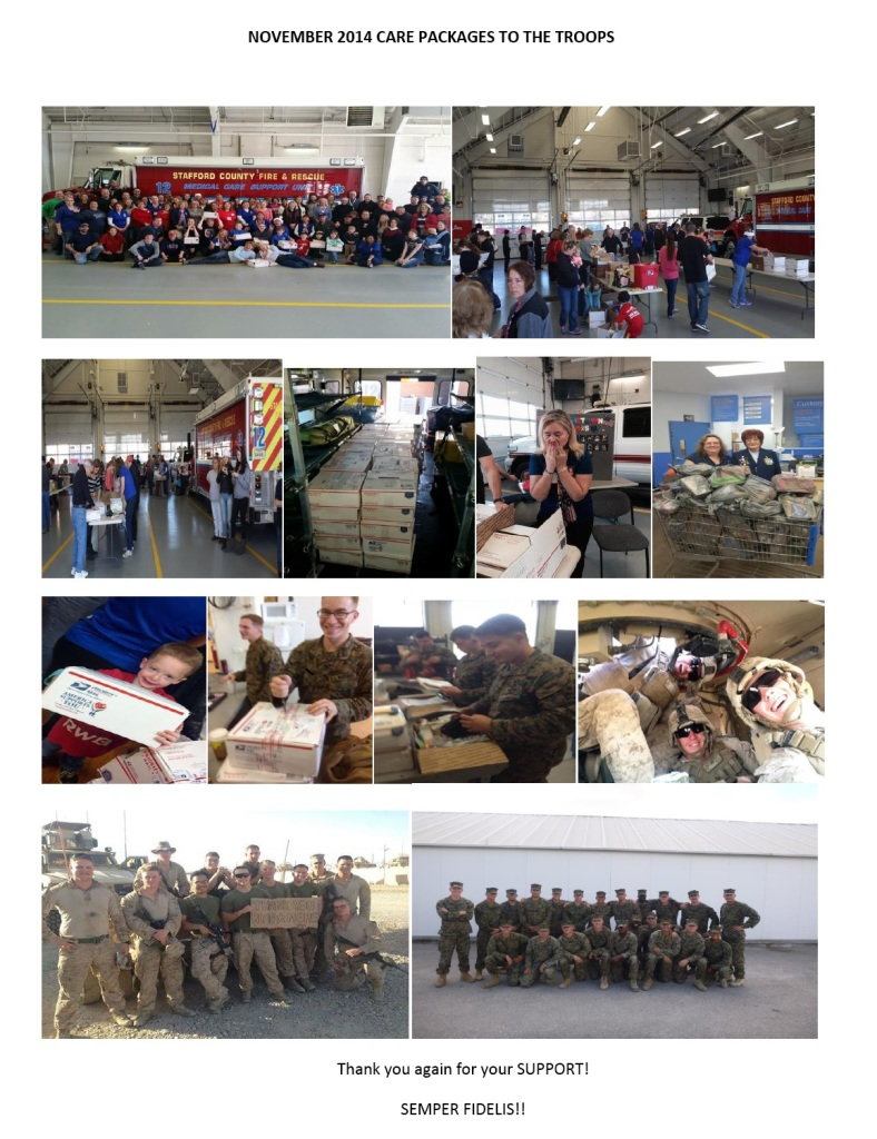 care packages november 2014