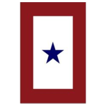 blue star flag tranparent border