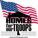 Home for our troops logo
