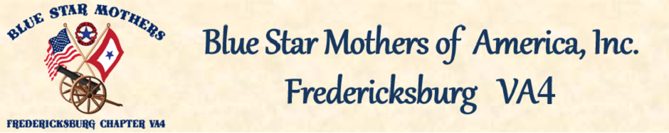 Blue Star Mothers of Fredericksburg VA4